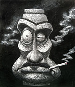 Trey Surtees - Stone Smoker Tiki