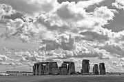 Amesbury Photos - Stonehenge 17 by Maj Seda