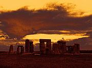 Stonehenge Digital Art Prints - Stonehenge 6 Print by Tom Conway