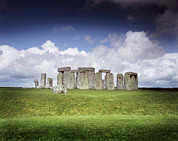 Christian Mythology Prints - Stonehenge Print by Chris Madeley
