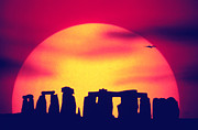 British Culture Prints - Stonehenge, England Print by John Foxx