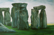 Jennifer Christenson - Stonehenge in Spring 2