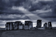 Architecture Digital Art Prints - Stonehenge Print by  Jaroslaw Grudzinski