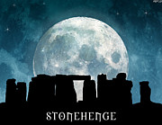 Stonehenge Digital Art Prints - Stonehenge Print by Phil Perkins