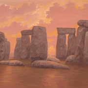 Marte Thompson - Stonehenge Sunset Three