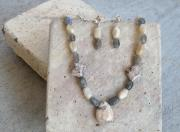 Post Jewelry - Stones and Luster by Pamela Poole