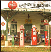 Coca-cola Signs Art - Stones General Merchandise  by Greg Molesworth