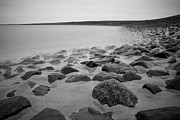 North Sea Photo Prints - Stones In North Sea In Germany Print by by Felix Schmidt