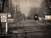 Amish Photos - Stoney Creek by David Arment