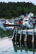 Ed Gage - Stonington Harbor with...