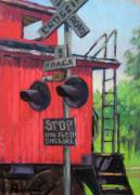 Sign Pastels - Stop by Jill Stefani Wagner