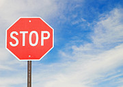 Stop Sign Photos - Stop Sign by Dave & Les Jacobs