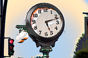 Clock Hands Digital Art Prints - Stopping Time Print by MaryJane Armstrong