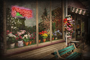 Merchant Posters - Store - Belvidere NJ - Fragrant Designs Poster by Mike Savad