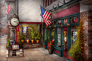 Antique Store. New Jersey Framed Prints - Store - Flemington NJ - Historic Flemington  Framed Print by Mike Savad