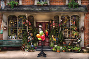 Pennsylvania Dutch Prints - Store - Strasburg PA - Petals and Beans Print by Mike Savad