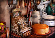 Cheese Shop Prints - Store - The old Deli  Print by Mike Savad