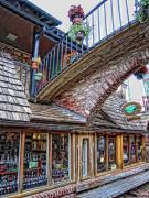Gatlinburg Tennessee Prints - Store front Print by Scott Childress