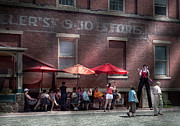 Sell Prints - Storefront - Bastile Day in Frenchtown Print by Mike Savad