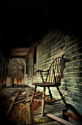 Abandoned Houses Posters - Stories of Old Poster by Emily Stauring