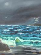 David  Barnes - Storm Across the Bay