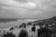 Storm Approaching - Jersey Shore Print by Angie Tirado
