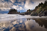 Trinidad Photos - Storm Clearing at Trinidad State Beach by Greg Nyquist