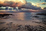 Jervis Prints - Storm Clouds at Jervis Bay Print by Alison Johnston