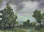 Storm Clouds Paintings - Storm Clouds by James DRYSDALE