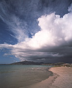 Isle Of Harris Prints - Storm Clouds Print by Michael Marten