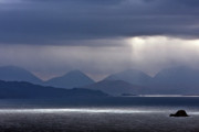 Scottish Art - Storm Clouds on the Cuillins by John McKinlay