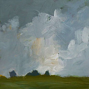 Storm Clouds Paintings - Storm Clouds by Pamela Munger