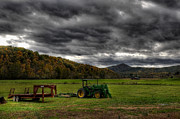 Wheel Photo Originals - Storm Clouds by Todd Hostetter