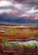 Nj Pastels - Storm Coming by Peter R Davidson