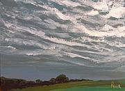 Storm Clouds Painting Originals - Storm Front by Pete Maier