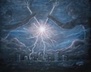 Storm Games Print by Marlene Kinser Bell