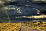 Rural Road Prints - Storm Horizon Print by Mark Richards