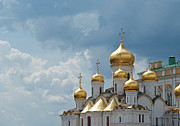 Orthodox Photo Metal Prints - Storm In Russia Metal Print by Boris SV