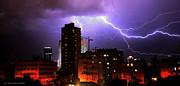 Isaac Silman - Storm in Tel Aviv