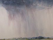 Thunder Paintings - Storm in the air by Vandy Massey