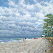 Fort Lauderdale Prints - Storm on the Horizon Print by Danielle  Perry