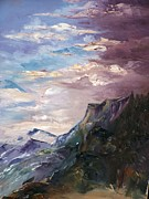 Snow Capped Originals - Storm on the Mountain by Terry Roberson-Wagener