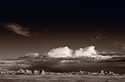 Desert Photo Originals - Storm Over Badlands by Steve Gadomski