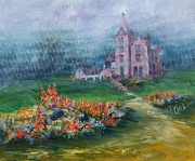 Donna Pierce-clark Art - Storm Over Mac-O-Chee Castle by Donna Pierce-Clark