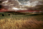 Rural Landscapes Originals - Storm Rising by Mark Richards