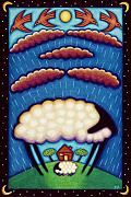 Iconic Paintings - Storm Shelter by Mary Anne Nagy