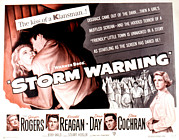 Storm Warning, Ginger Rogers, Steve Print by Everett