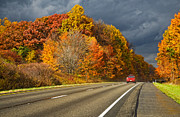 Colors Of Autumn Posters - Stormin Through Pennsylvania 2 Poster by Steve Harrington