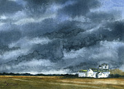 Storm Clouds Painting Originals - Storms of Life by Marsha Elliott