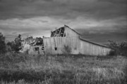 Barn Storm Prints - Stormy Aftermath  Print by Christina Young